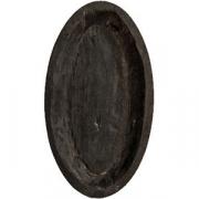 Тарелка «Яйцо» темный дуб