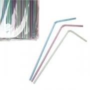 Трубочки со сгибом флюорисц. L=24см [1000шт]