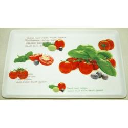 Блюдо прямоугольное «Помидоры» 30х19 см
