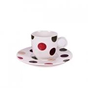 Чайная пара: чашка 180мл. c блюдцем 16,3см «Мозаика»