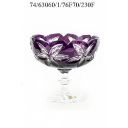 Ваза для салата/фруктов фиолетовая 230