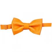 Бабочка для бармена кожа; оранжев.