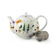 Чайник с ситечком «Сад»