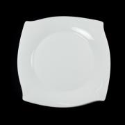 Набор из 6 тарелок 21 см Форте белый