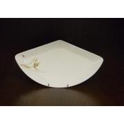 Блюдо треугольное L «Восточная орхидея»