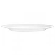 Тарелка мелкая «Эвридэй», стекло, D=24.5см, белый