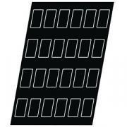 Форма конд. «Прямоугольник» [84шт], силикон, L=50,B=26мм