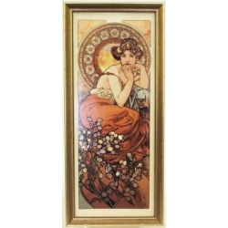 Картина «Топаз» 16х38 см.Серия Mucha. Подарочная упаковка