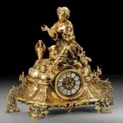 Часы «дама» 40х43см