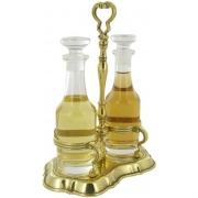 Бутылочки для масла и уксуса на подставке 20x24 см.