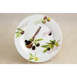 Набор из 4-х тарелок «Оливки» 19 см
