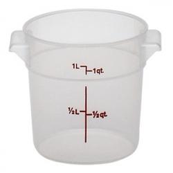 Контейнер пищевой 0.9л полиэтилен