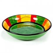 Набор 4 тарелки суповые 24см «Красный перец»