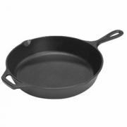 Сковорода круглая d=25.6см,2ручки,чугун