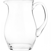 Кувшин +поднос+2 стакана (набор) стекло; прозр.