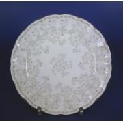 Набор тарелок 18см 6шт Джулия Грэй с платиновой лентой