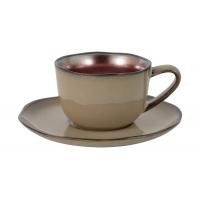 Чашка с блюдцем Copper в инд.упаковке
