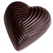 Форма для шоколада «Сердце» [21шт]; поликарбонат; H=11,L=35мм