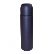Термос цельнометаллический 0,5 л синий перламутр