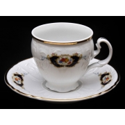 Набор для чая 140 мл. н/н «Синий глаз 36612» на 6 перс. 12 пред.