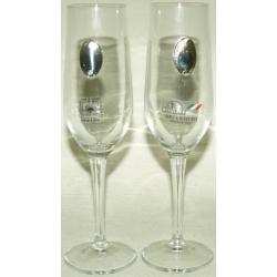 Набор бокалов для шампанского,2 бокала - 0,2 л