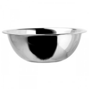 Миска «Проотель», сталь, 1.75л, D=22,H=9см, металлич.