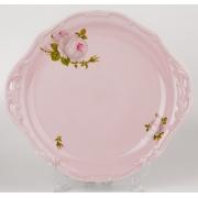 Блюдо круглое 28 см. «Алвин розовый»