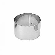 Кольцо кондитерское, сталь нерж., D=50,H=35мм, металлич.