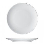 Тарелка мелкая «Опшенс», фарфор, D=15см, белый