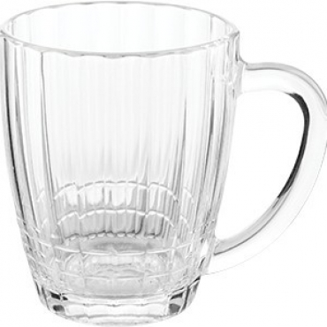 Кружка пивная «Ностальгия» стекло; 500мл; прозр.
