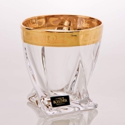 Набор стаканов 340 мл. 6 шт. «Квадро Золото»