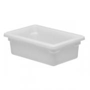 Контейнер для пищев.продуктов, полиэтилен, H=15,L=46,B=30.5см, белый