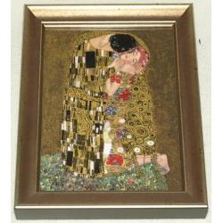 Картина «Поцелуй» 13х17 см.Серия: Klimt.Подарочная упаковка.