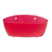 Органайзер/корзина для ванны SPLASH Koziol 95 х 275 х 130мм (прозрачный красный )