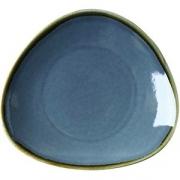 Блюдо «Тэррастоун» D=28см; синий