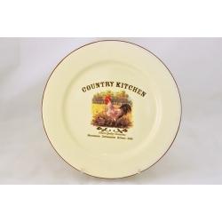 Обеденная тарелка «Деревенское утро» 26 см