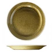 Блюдо «Кантри Стайл», фарфор, D=31,H=3см, зелен.