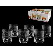 Набор стаканов для виски 3 х 2 ,«Гранд микc»