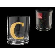 Стакан для виски (1 шт) Азбука Буква «C»