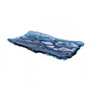 Блюдо «Море» L=28, B=15см; синий