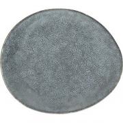 Тарелка для хлеба «Органика» D=16см; серый