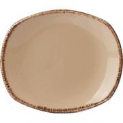 Тарелка овал «Террамеса вит» 15.2см