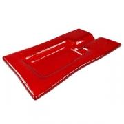 Пепельница для сигар; стекло; H=21,L=170,B=99мм; красный