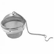 Сито для чая «Шар», сталь нерж., D=6,H=6см, металлич.