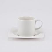 Набор 6 кофейных пар 100мл «White Square»