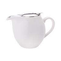 Чайник с ситечком Осло (белый) в инд.упаковке