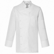 Куртка поварская,р.52 б/пуклей, хлопок, белый