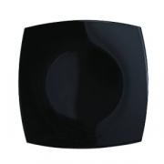 Тарелка мелк. «Квадрато» черная 19*19см