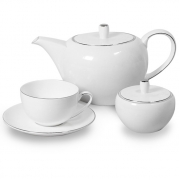 Сервиз чайный 6 перс 15 пр Антарктида