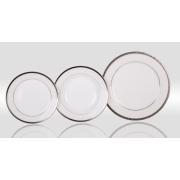 Набор тарелок «Фреска» на 6 персон 18 предметов